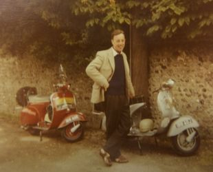 Donald with both his GS and Gills 150