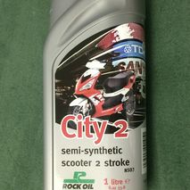 2 stroke City 2 rock oil semi synthetic 1L