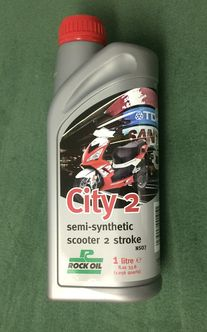 2 stroke City 2 rock oil semi synthetic 1L image #1