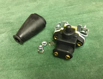 Lambretta 2 Pin Brake Light Switch and rubber cover(All Models) image #1