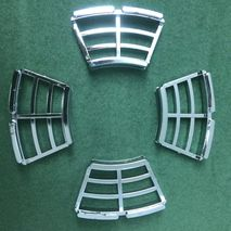 Casa Lambretta chrome Disc brake windows (set of 4)