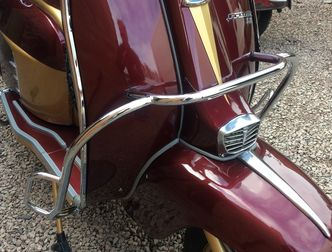 Lambretta series 3 crashbars U.K made for Disco Dez image #1