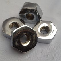 vespa VNB VBB chrome wheel nut set (4)10mm thread