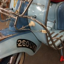 Lambretta series 1 / 2 crashbar U.K made for Disco Dez