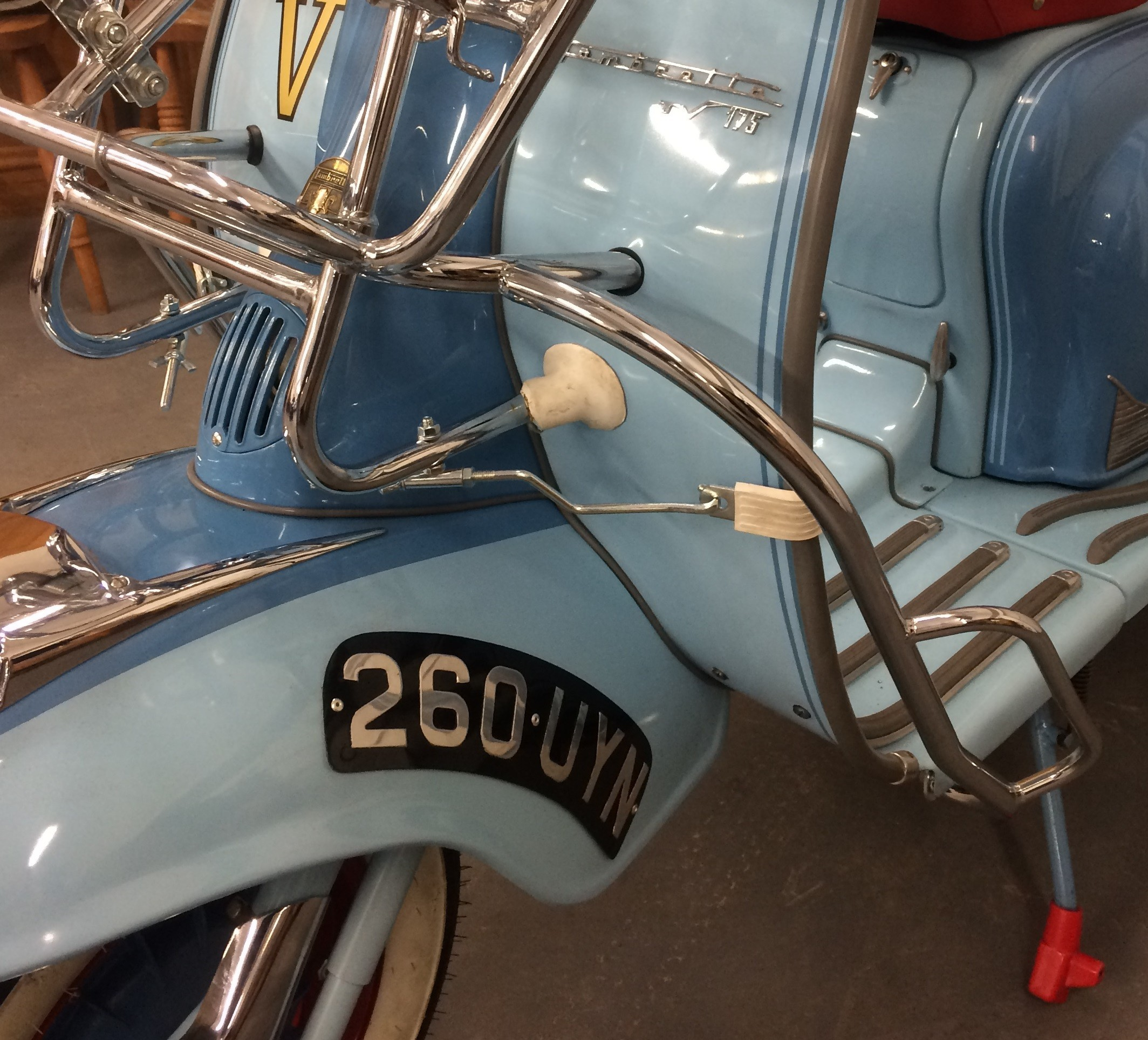 Lambretta Series 1 2 Crashbar U K Made For Disco Dez