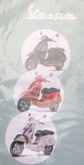 Vespa GTS 300 RED decal set image #1
