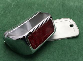 chrome plated rear light image #1