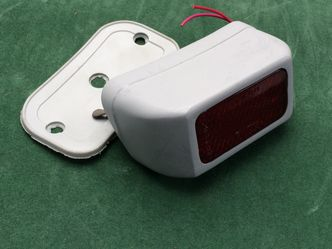 vintage vespa rear light unit image #1