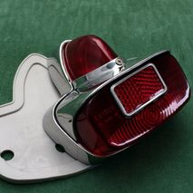 GS VBB rear light unit polished alloy