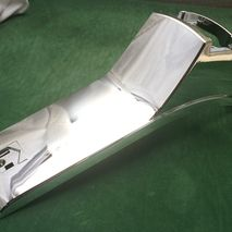 Vespa PX MY2000 DISC chrome horn cover