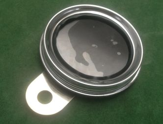 stainless tax disc holder image #1