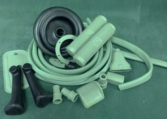Vintage Vespa pale green body rubber kit VN,VL ACMA image #1