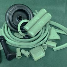 Vintage Vespa pale green body rubber kit VN,VL ACMA