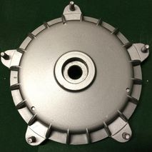 Vespa PX Mk1 rear hub, brake drum