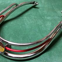 Vespa chrome bumper bar / embellisher VBB Sportique