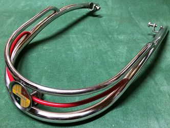 Vespa chrome bumper bar / embellisher VBB Sportique image #1