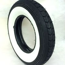 Continental 3.50 x 8 whitewall tyre