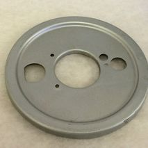 Vespa SS180/GS160 front hub backplate