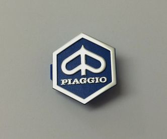Vespa Piaggio diamond horn cover badge  image #1