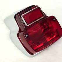 Vespa chrome rear light unit V50/90 125 SIEM