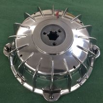 Lambretta Polished Rear Hub SCOOTOPIA
