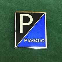 Piaggio enamel lapel pin badge