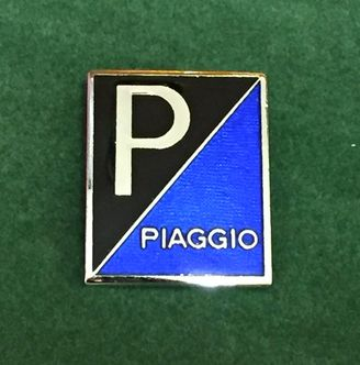 Piaggio enamel lapel pin badge image #1