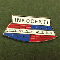 Innocenti Lambretta enamel lapel pin badge