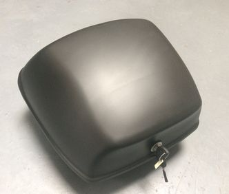 Piaggio satin black top box  image #1