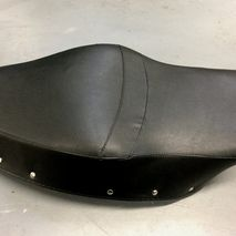 Vespa GS150 black seat cover Made in Italy