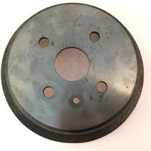 Vespa 50 9 inch rear brake drum