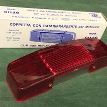 Lambretta series 1/2 rear light lens C.E.V