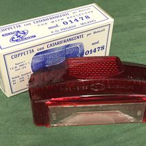 Lambretta series 3/2 rear light lens C.E.V