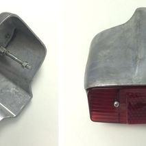 Lambretta Series 1 and 2 rear light unit