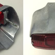 Lambretta series 2 rear light unit