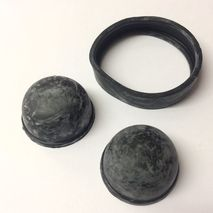 Lambretta D & LD Torsion Rubber Set 1951-58