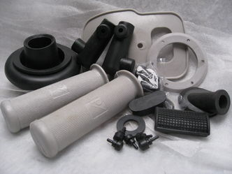 vespa small frame rubber kit image #1