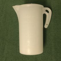 2% two stroke Oil measuring jug