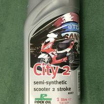 2 stroke City 2 rock oil semi synthetic 1L