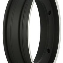 "SIP Vespa 10"" Matt Black & Aluminium Tubeless Wheel Rim"