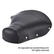 Vespa black rear seat cover PASCOLI 1950's