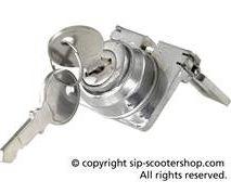 Vespa 1950's steering lock