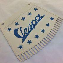 Vespa blue print tassel mud flap