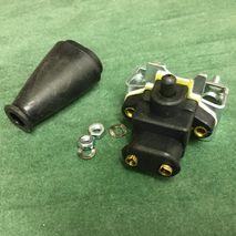 Lambretta 2 Pin CASA Brake Light Switch and rubber cover(All Models)