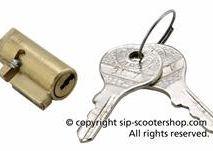 Vespa NEIMAN steering lock 1965 - 1971