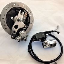 Lambretta hydraulic disc brake conversion