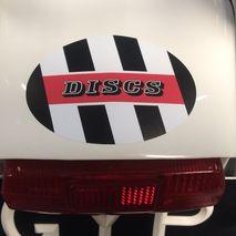 Lambretta Discs sticker