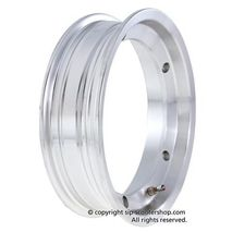 SIP Vespa Polished Aluminium Tubeless Wheel Rim