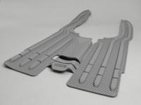 Lambretta series 1 / 2 grey floor mat by CASA