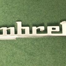 Lambretta legshield badge GP DL 150/200
